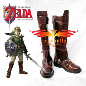 The Legend of Zelda Link Cosplay Shoes Boots Custom Size