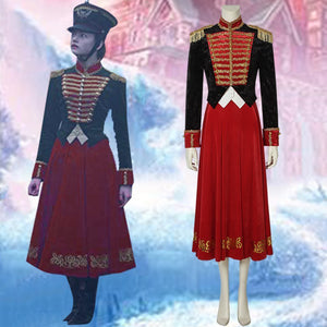 The Nutcracker and the Four Realms Clara Uniform Cosplay Costume for Halloween Carnival