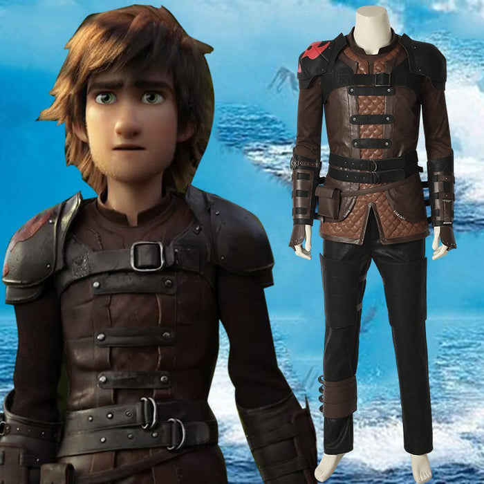 How To Train Your Dragon3: The Hidden World Hiccup Cosplay Costume Halloween Carnival