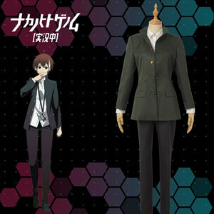 The Ones Within aka: Naka No Hito Genome Iride Akatsuki Cosplay Costume Uniform Adult Custom Made