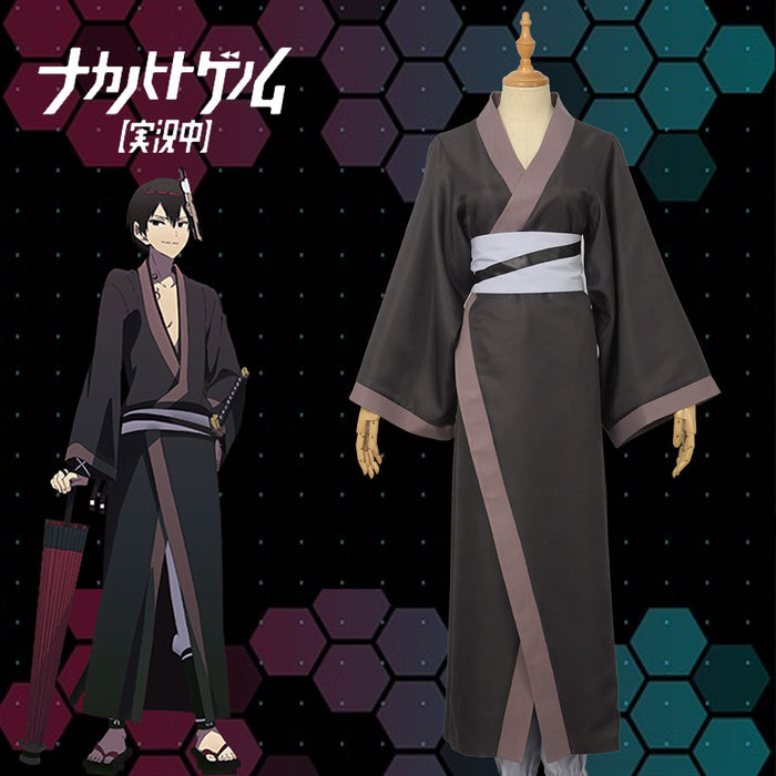 The Ones Within aka: Naka No Hito Genome Onigasaki Kaikoku Cosplay Costume Uniform Adult Custom Made