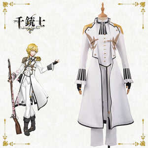 The Thousand Noble Musketeers Senjuushi Charleville Uniform Cosplay Costume Custom Made for Adult Men Carnival Halloween Christmas