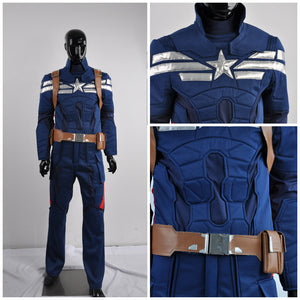 The Winter Soldier Steve Rogers Cosplay Costumes Captain America 2 Costumes