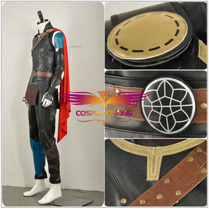 Thor: Ragnarok Son of Odin Avengers Thor Cosplay Costume Men Superhero Cloak for Adult Halloween Carnival