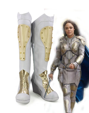 Thor: Ragnarök Valkyrja Cosplay Shoes Boots Custom Made for Adult Men and Women