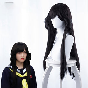 Tokyo From Today It's My Turn Hayagawa Kyoko Long Black Straight Cosplay Wig Cosplay for Girls Adult Women Halloween Carnival Party