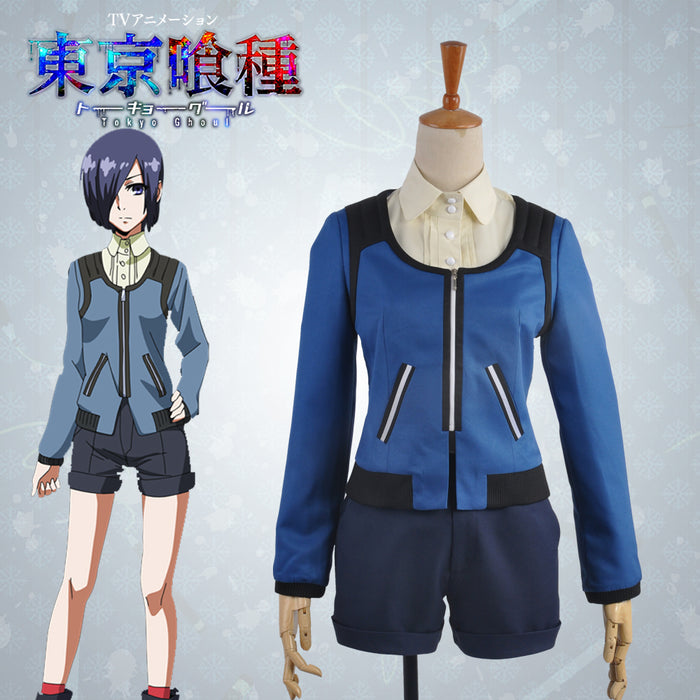 Tokyo Ghoul Touka Kirishima Uniform Cosplay Costume Outfit Clothing For Adult