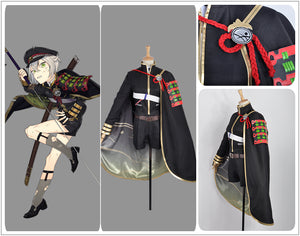 Touken Ranbu Oodachi Hotarumaru Adult Men Cosplay Costume Cloak Stockings Full Set