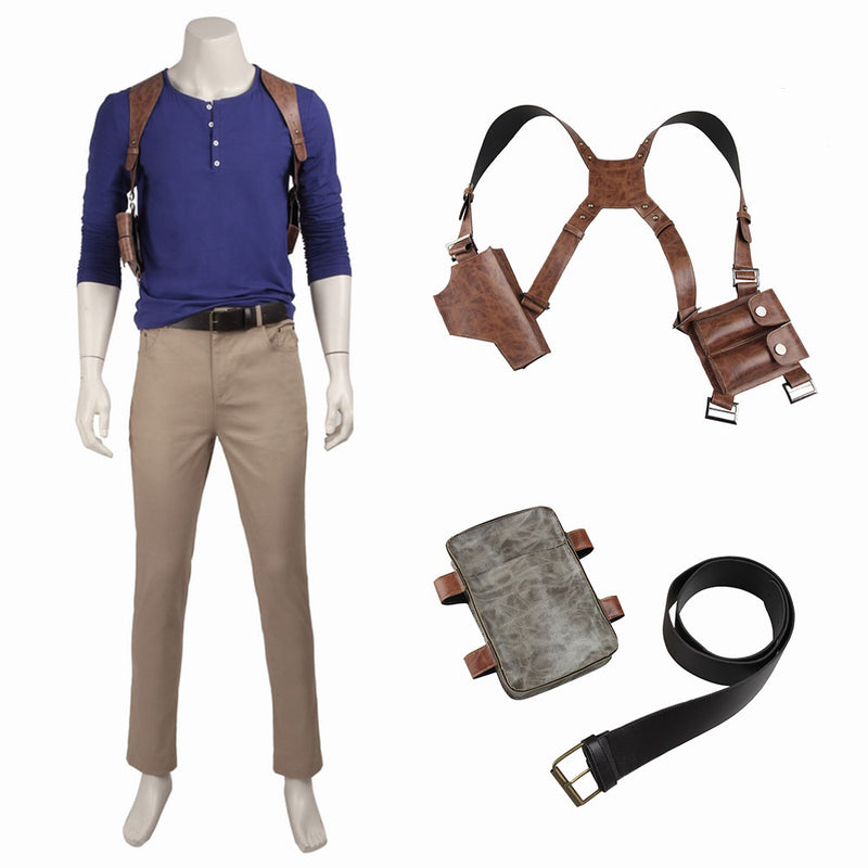 Cosplayflying Buy Uncharted 4 A Thief S End Nathan Drake Cosplay