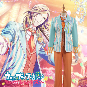 Uta No Prince Sama QUARTET NIGHT Sweet Cafe Live CAMUS Stage Cosplay Costume Outfit