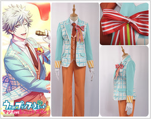 Uta No Prince Sama QUARTET NIGHT Sweet Cafe Live Kurosaki Ranmaru Stage Cosplay Costume Outfit