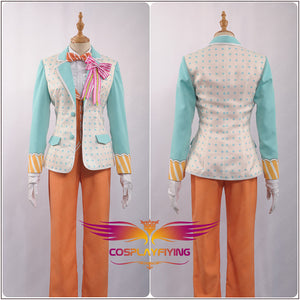 Uta No Prince Sama QUARTET NIGHT Sweet Cafe Live MIKAZE AI Stage Cosplay Costume Outfit