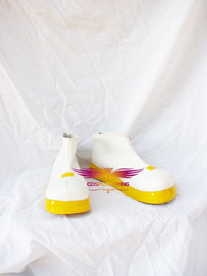 VOCALOID2 Kagamine Rin Cosplay Shoes Boots Custom Made for Adult Men and Women Halloween Carnival