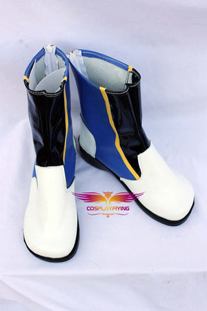 VOCALOID KAITO Cosplay Shoes Boots Custom Made for Adult Men and Women Halloween Carnival