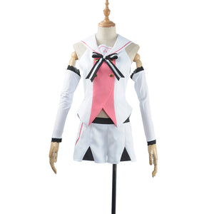 Virtual YouTuber A.I.Channel Cosplay Costume Women Sailor Suit Girl Outfit Full Set