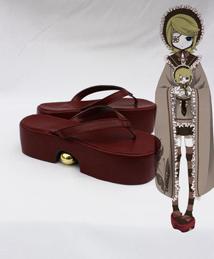 Vocaloid Senbonzakura Kagamine Rin Cosplay Shoes Boots Custom Made for Adult Men and Women Halloween Carnival
