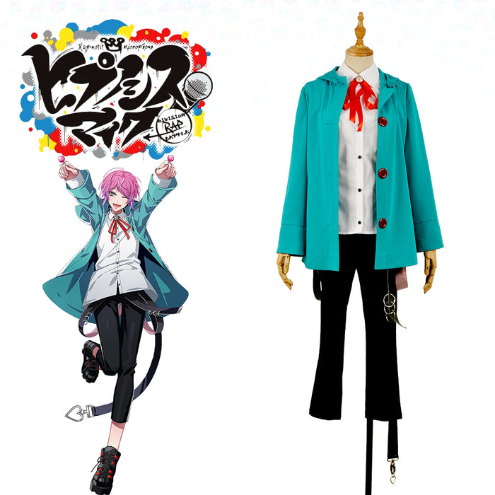 Voice Actor Division Rap Battle Fling Posse Ramuda Amemura easy R Male Men Uniform Outfit Cosplay Costume For Leisure