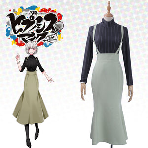 Voice Actor HypnosisMic -Division Rap Battle Nemu Aohitsugi Cosplay Costume Women Sexy Mermaid Dress