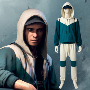 Watch Dogs 2 Jimmy Shaw Ex-Clan Kelley Member Hoodie Cosplay Costume Halloween Costumes For Halloween Carnival