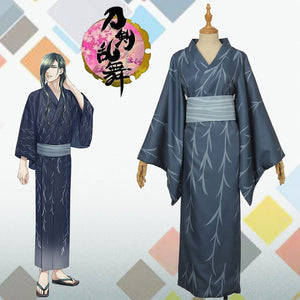 Webgame Touken Ranbu Nikkariaoe Copslay Costume Women Dress Men Pinted Cardigan Kimono Halloween Outfit Custom Made