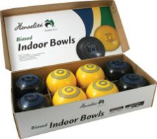 Henselite Indoor Bowls Set