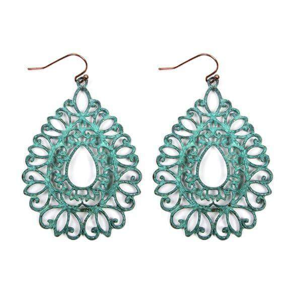SOLD OUT Turquoise Lovebug Dangles