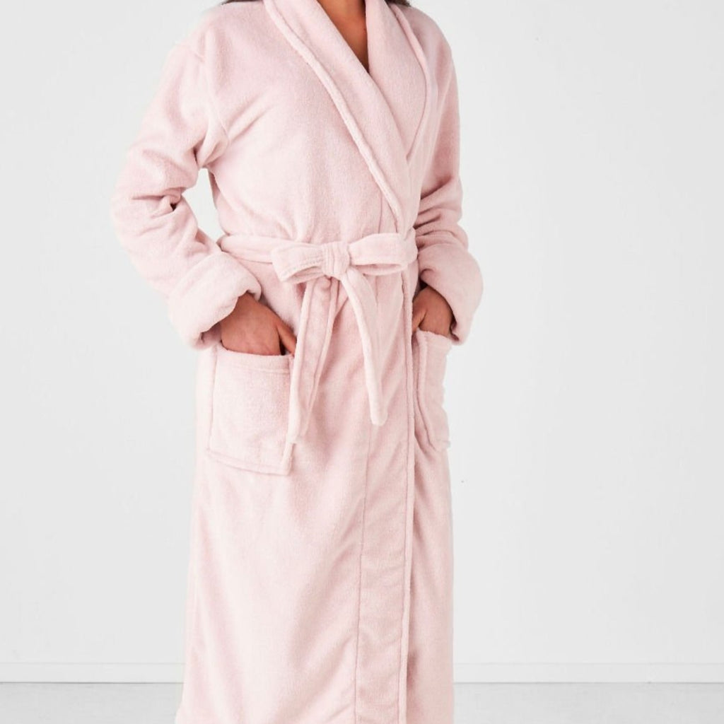 Plush Bath Robe-thenestsw