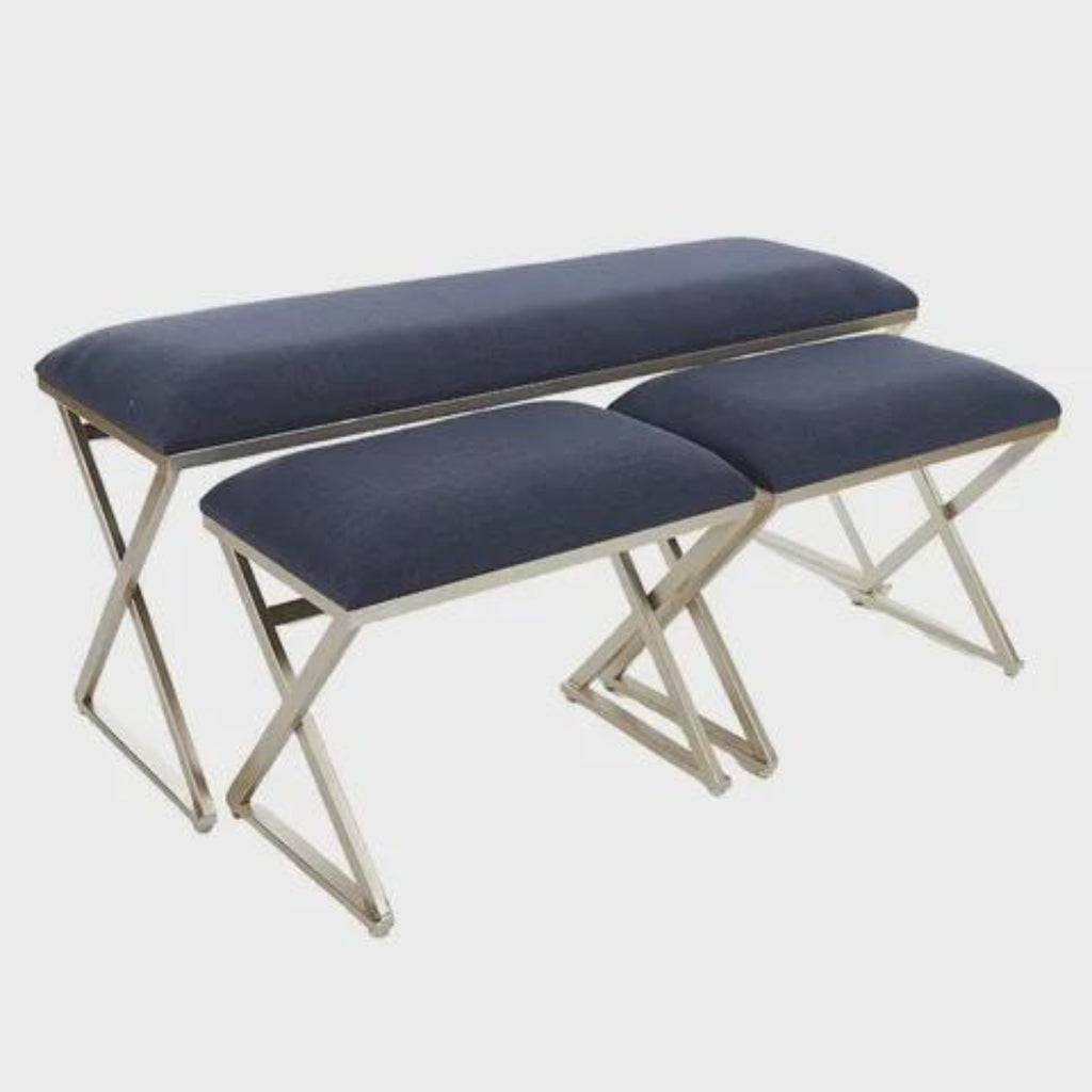 Rhodes Set 3 Bench Seat-thenestsw