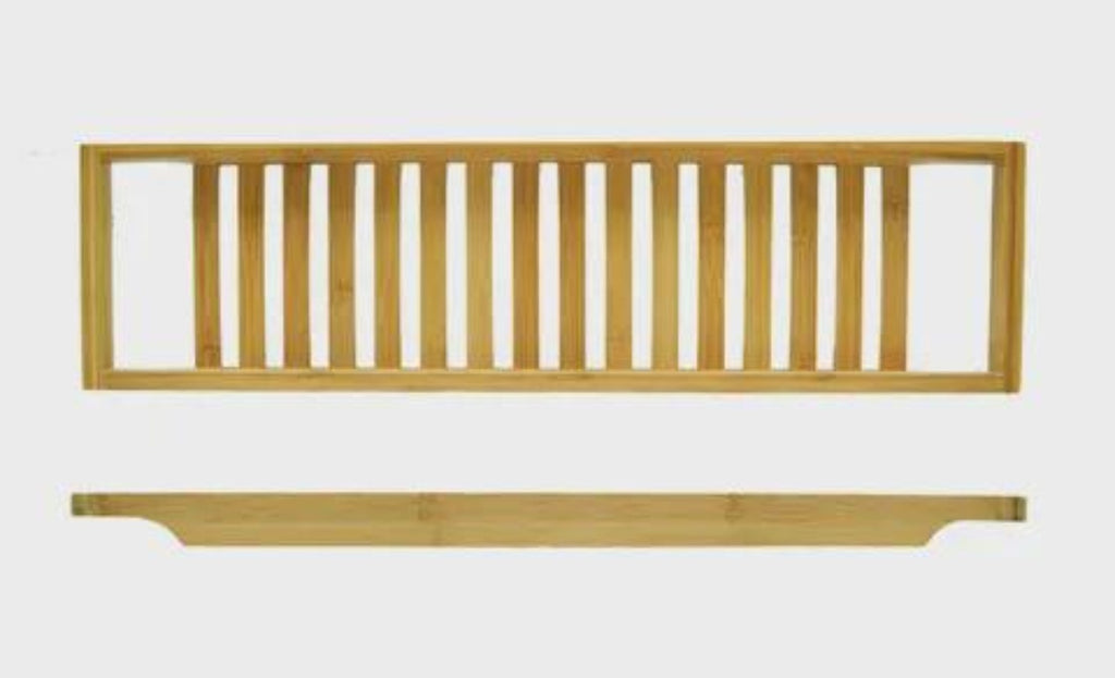 Bamboo Bathtub Rack-thenestsw