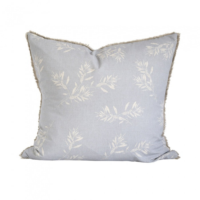 Olive Grove Cushion with Feather Insert 60x60-thenestsw
