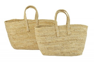 Shopping Basket Nat Maize-thenestsw