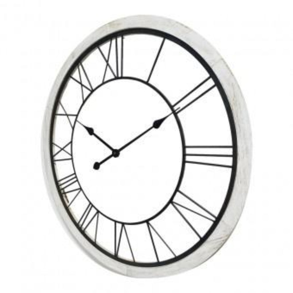 XXL Contemporary Monochrome Clock-thenestsw