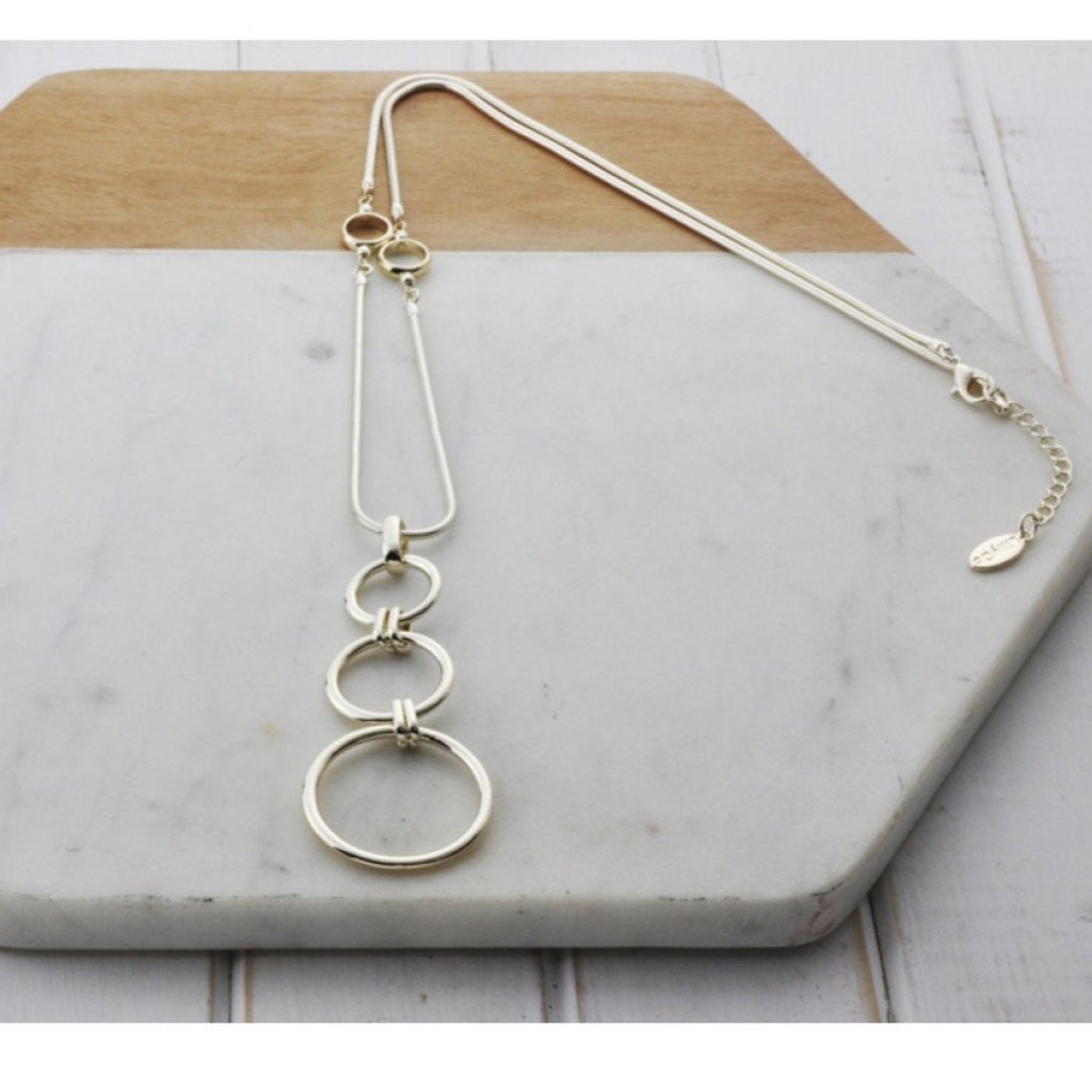 3 Ring Necklace-thenestsw