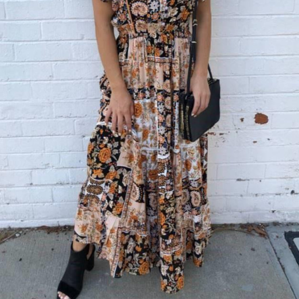 Annabelle Maxi Dress-thenestsw