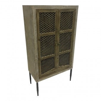 Emporium Tall Double-door Cabinet-thenestsw