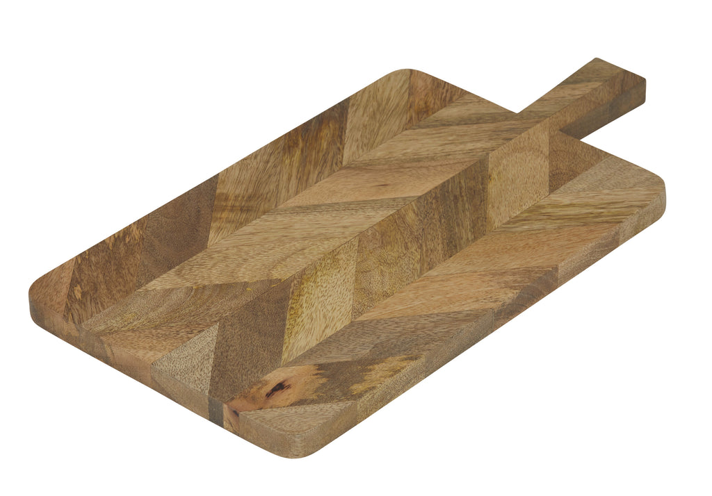 Paddle Chevron Mango Wood-thenestsw