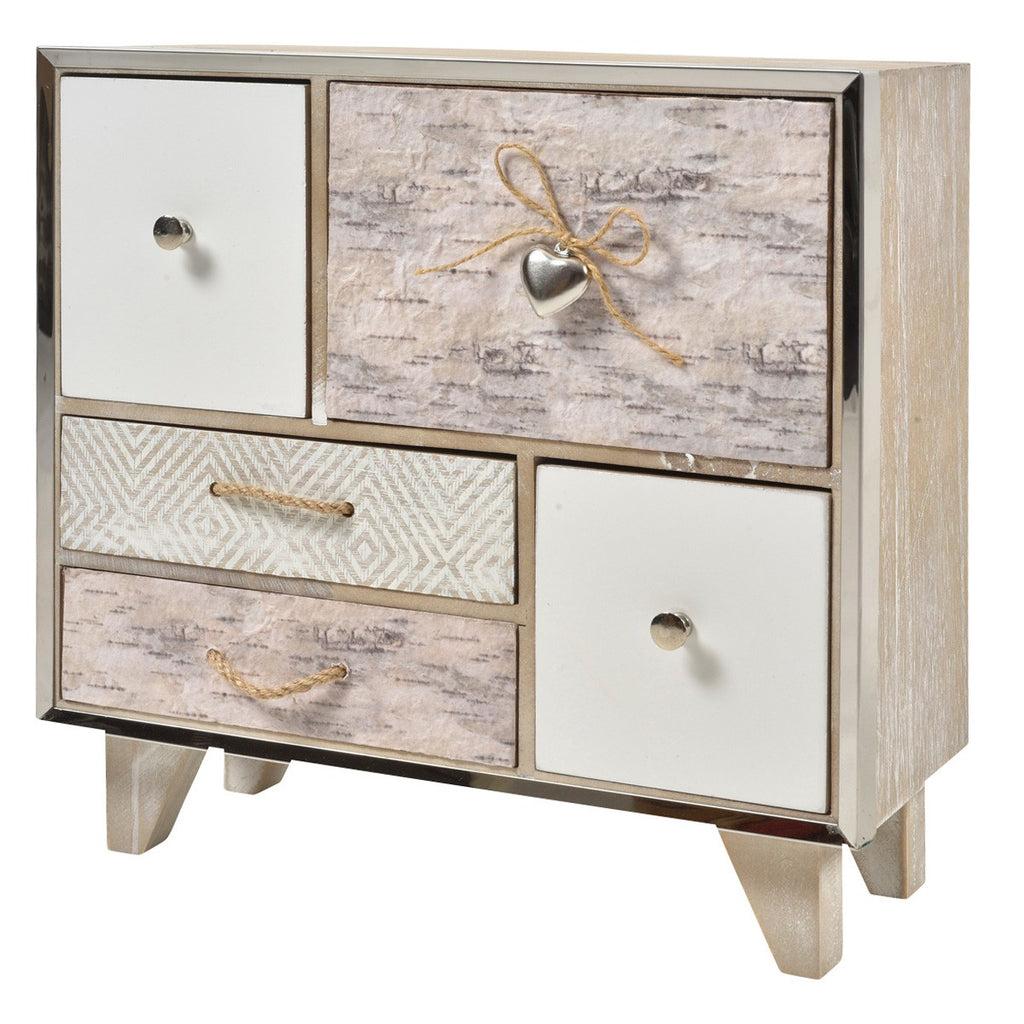 Norway 5 Drawer Storage Unit-thenestsw