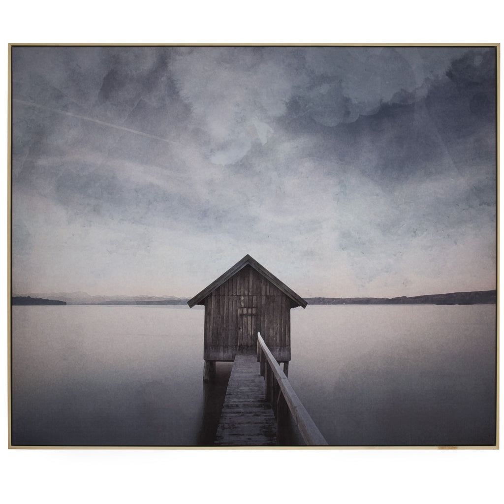 Lakehouse Wall Decor 122x4.5x102.5cm-thenestsw