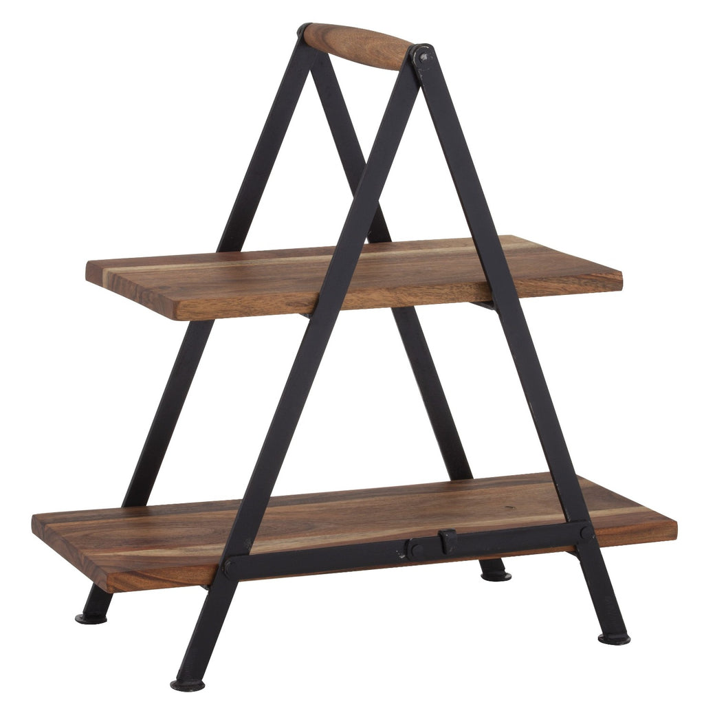 Fine Food Two Tier Serving Stand-thenestsw