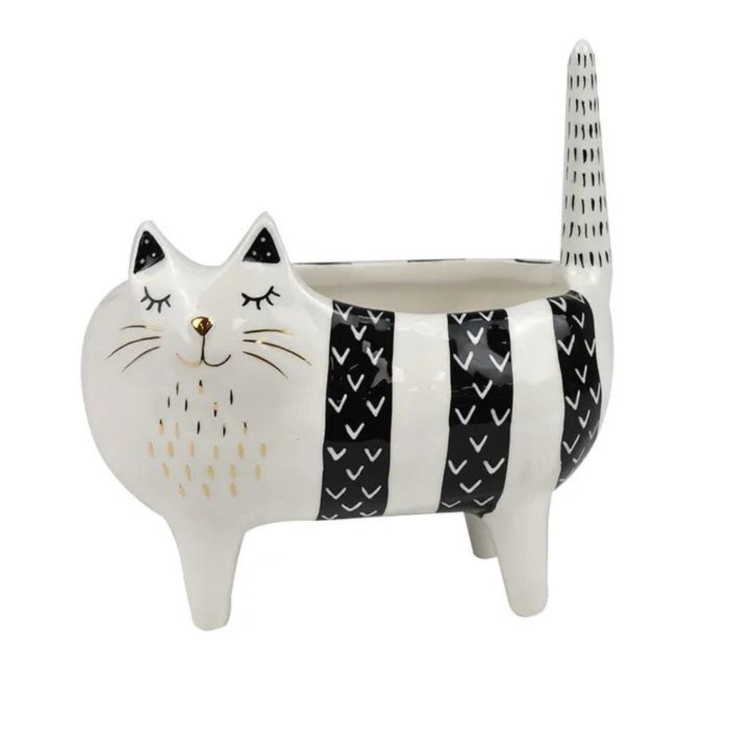 Colin Cat planter-thenestsw