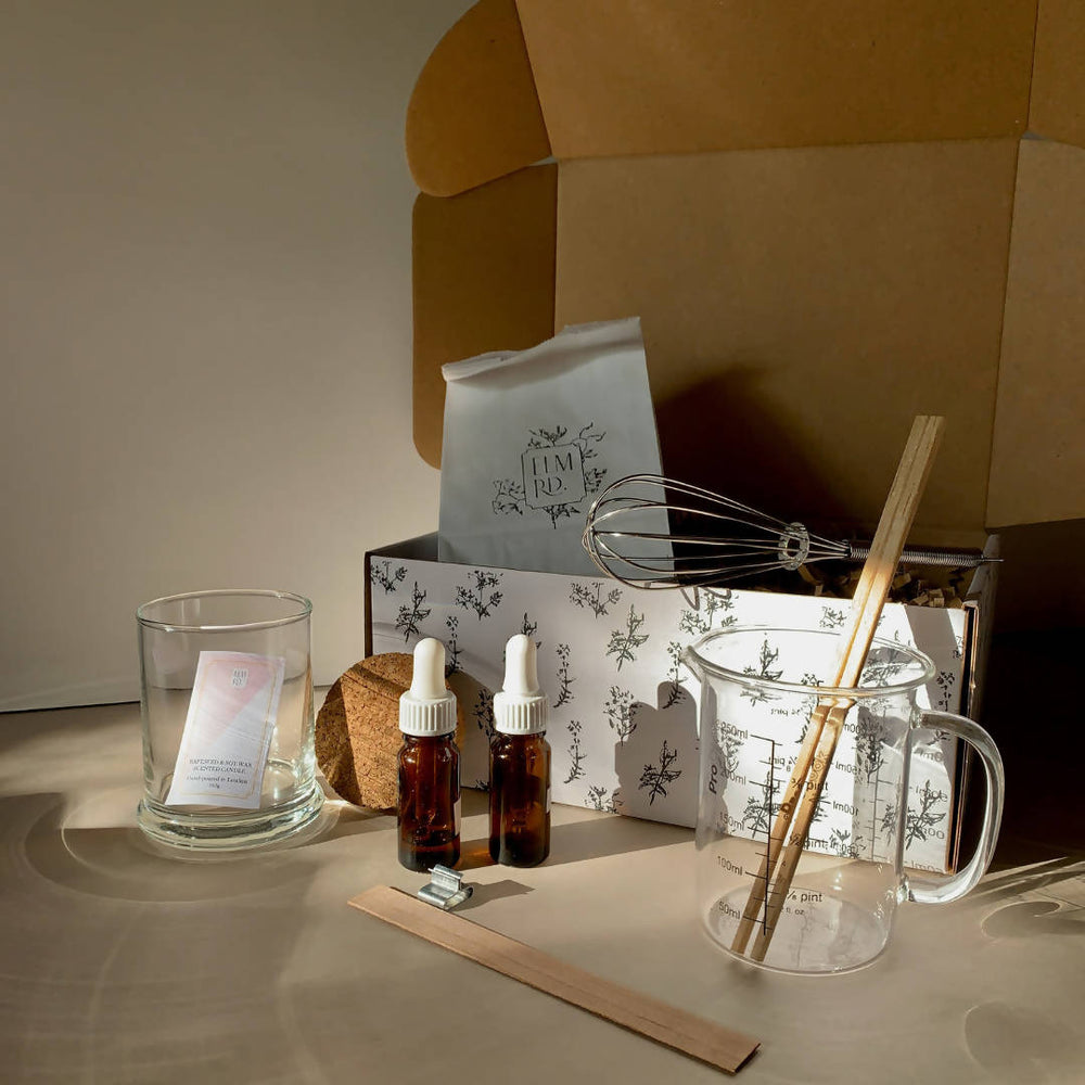 CANDLE MAKING KIT - WELLBEING COLLECTION