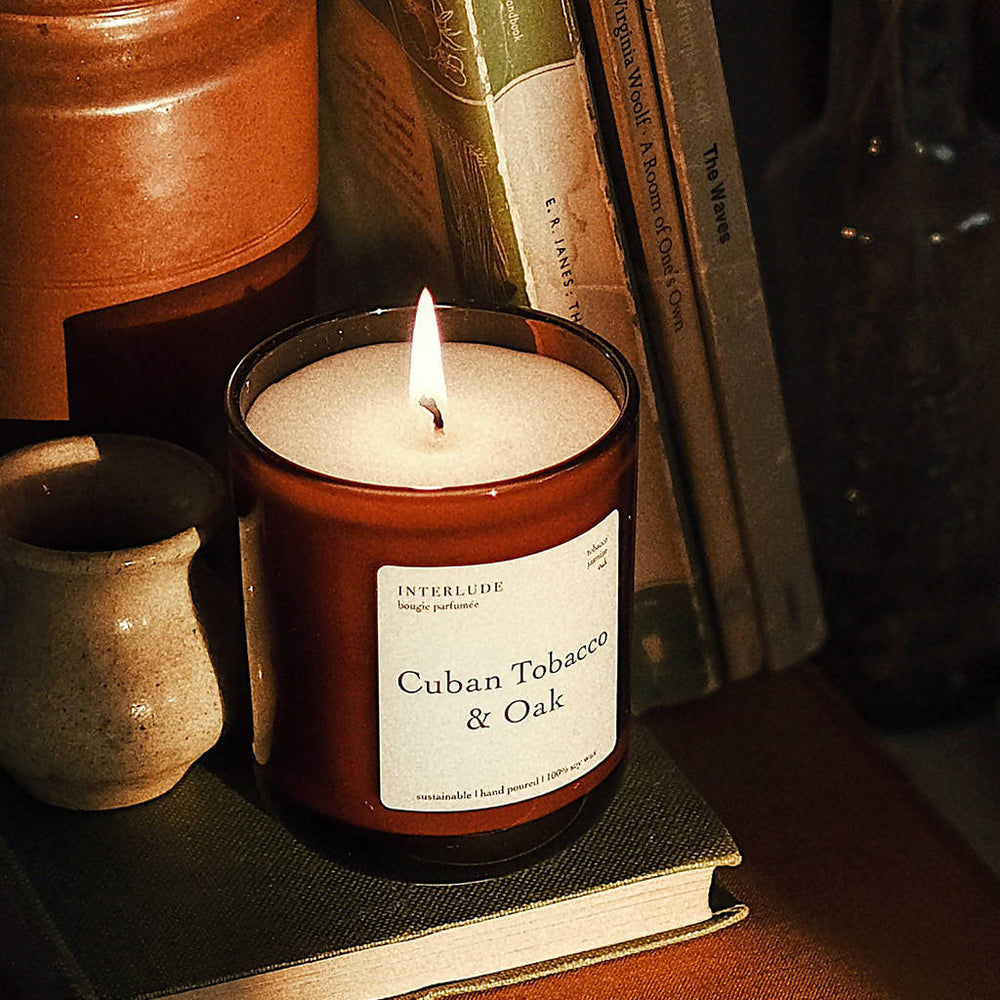 CUBAN TOBACCO & OAK SOY WAX CANDLE