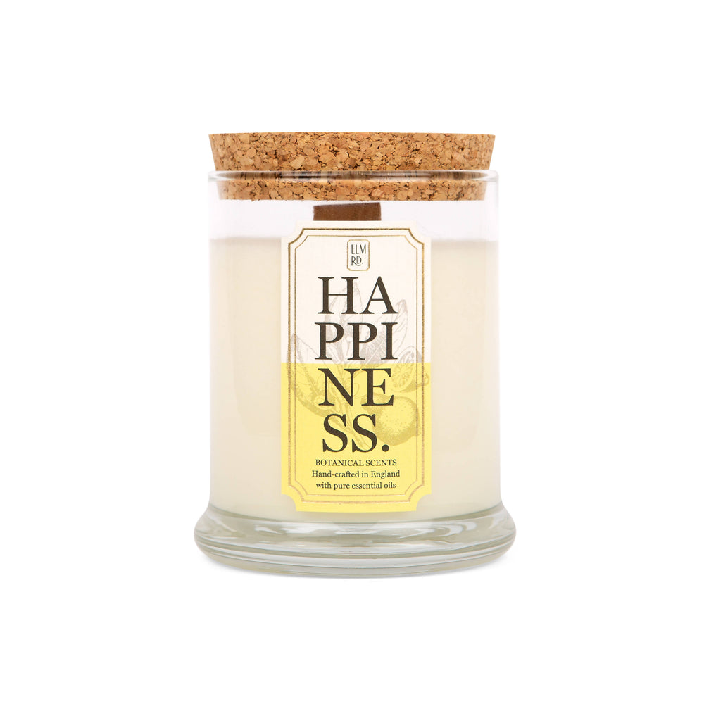 HAPPINESS AROMATHERAPY SCENTED CANDLE