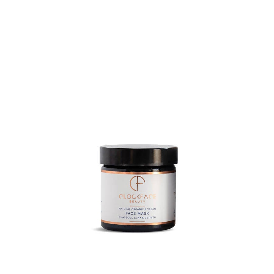FACE MASK, RHASSOUL CLAY