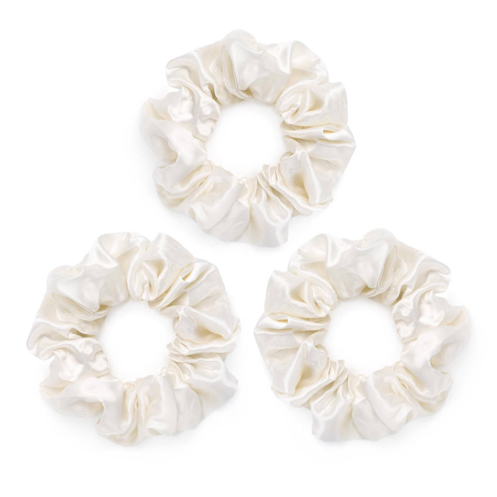 LARGE SILK SCRUNCHIES (Pack of 3)