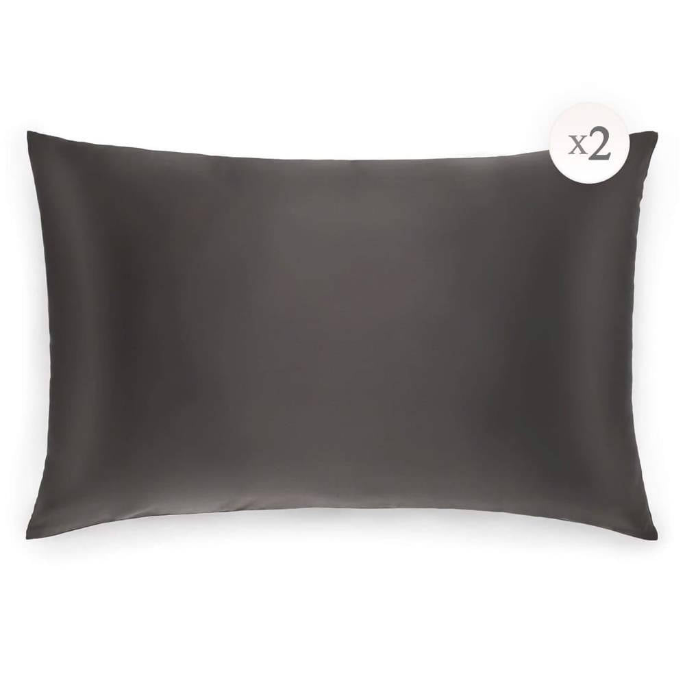 MULBERRY SILK PILLOWCASES (SET OF 2) - STANDARD QUEEN