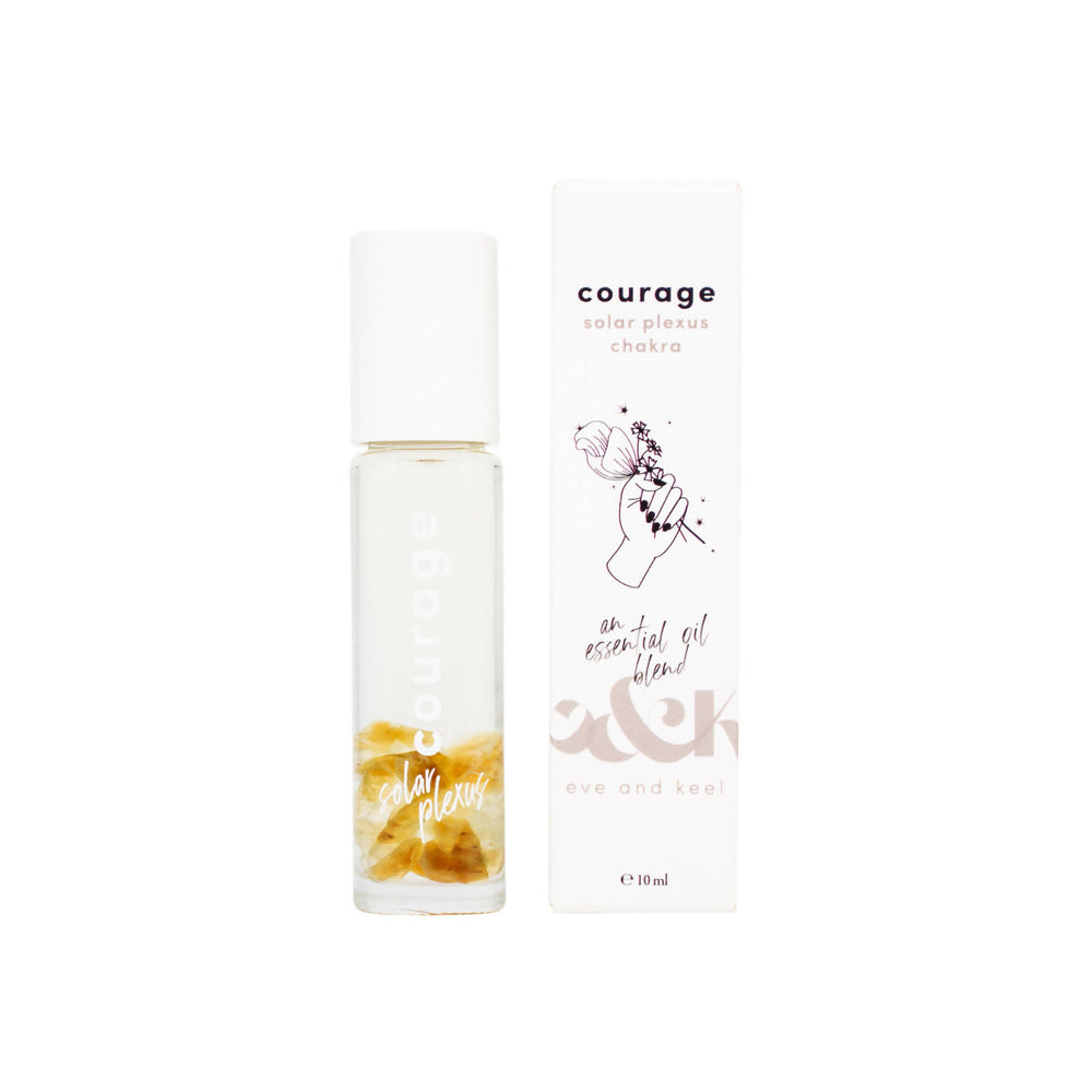 COURAGE CRYSTAL CHAKRA ROLLER