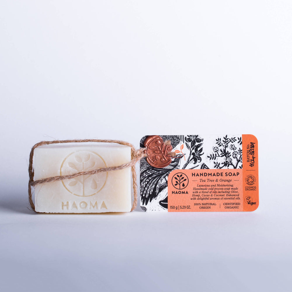 ORGANIC TEA TREE & ORANGE SOAP