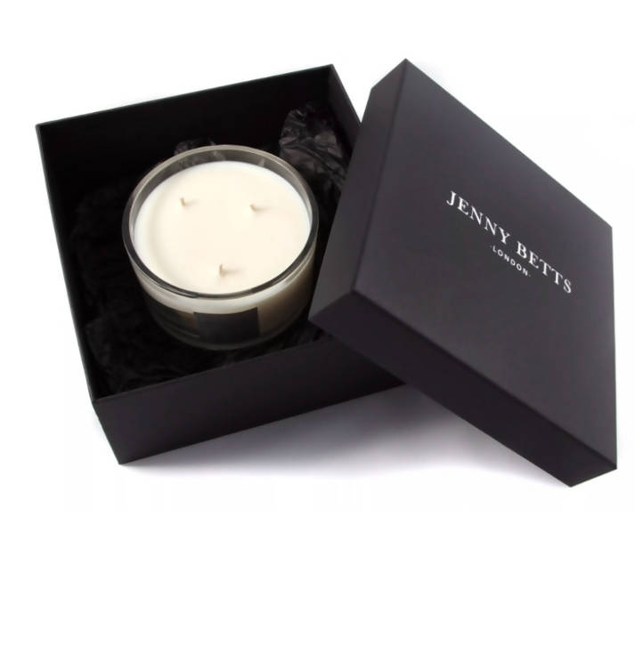 PINK PEPPER & GREEN MANDARIN THREE WICK SOY CANDLE