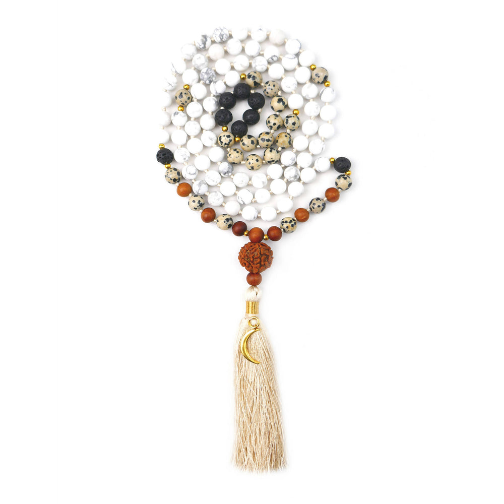 LUNA JAPA MALA NECKLACE
